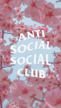 Anti social social club wallpaper 15