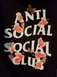 Anti social social club wallpaper 9