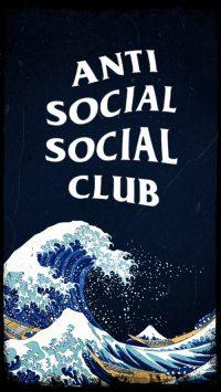 Anti social social club wallpaper 7