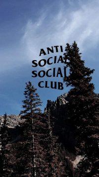 Anti social social club wallpaper 6
