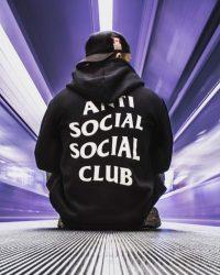 Anti social social club Wallpaper 12