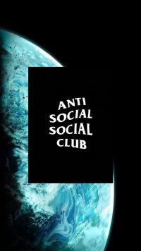 Anti social social club wallpaper 28