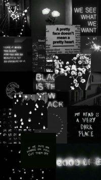 Black Aesthetic Wallpaper 17