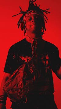 Red Aesthetic Wallpaper Rapper 13