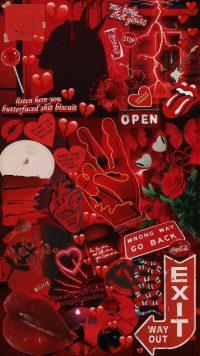 Red Baddie Wallpaper 2