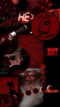 Red Baddie Wallpaper 14