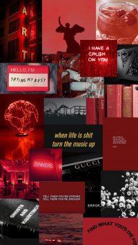 Red Baddie Wallpaper 13