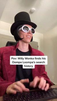 Willy wonka tiktok wallpaper 5