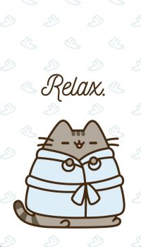 Cute pusheen Wallpaper 3