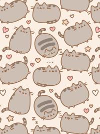 Cute pusheen wallpaper 14