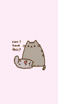 Cute pusheen Wallpaper 12