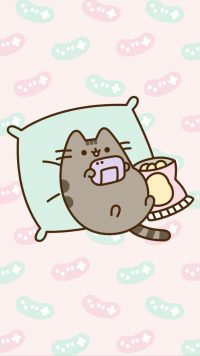 Cute pusheen Wallpaper 11