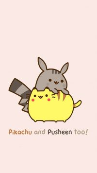 Cute pusheen Wallpaper 9