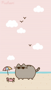 Cute pusheen Wallpaper 8
