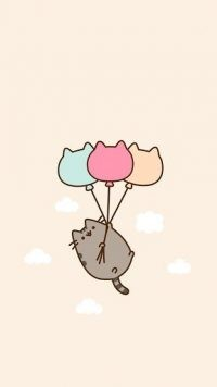 Cute pusheen Wallpaper 7