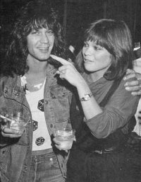 Eddie Van Halen and Valerie Bertinelli Pictures 5