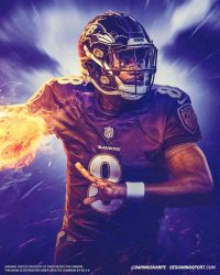 Lamar Jackson Wallpaper 5