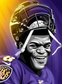 Lamar Jackson Wallpaper 4