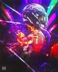 Lamar Jackson Wallpaper 2