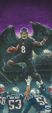 Lamar Jackson Wallpaper 14