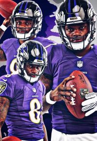 Lamar Jackson Wallpaper 10