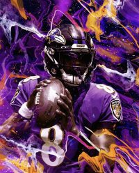 Lamar Jackson Wallpaper 8