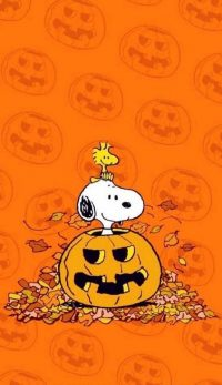 Snoopy Halloween Wallpaper 1
