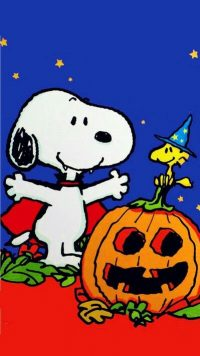 Snoopy Halloween Wallpaper 12