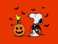 Snoopy Halloween Wallpaper 13