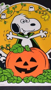 Snoopy Halloween Wallpaper 14