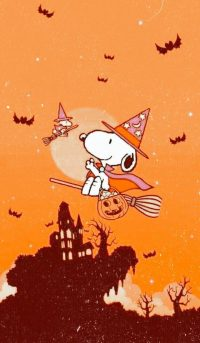 Snoopy Halloween wallpaper 17