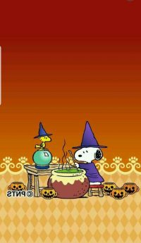 Snoopy Halloween Wallpaper 8