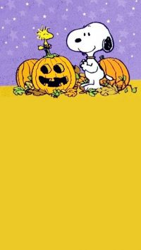 Snoopy Halloween Wallpaper 9