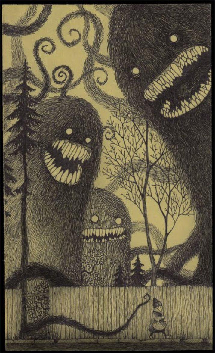 Spooky wallpaper 1