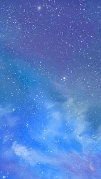 Moon and stars wallpaper 17