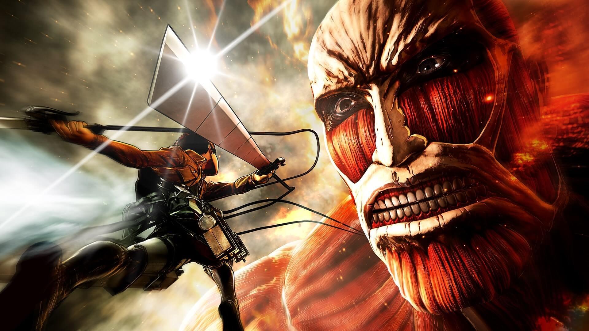 Attack On Titan Wallpaper Wallpaper Sun