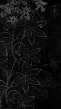 Black Flowers wallpaper 23