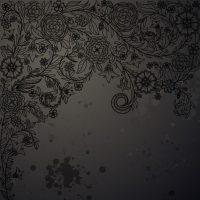 Black Flowers Wallpaper 20