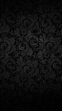Black Flowers Wallpaper 17