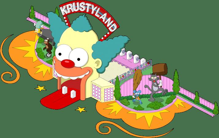 Krustyland Wallpaper 1