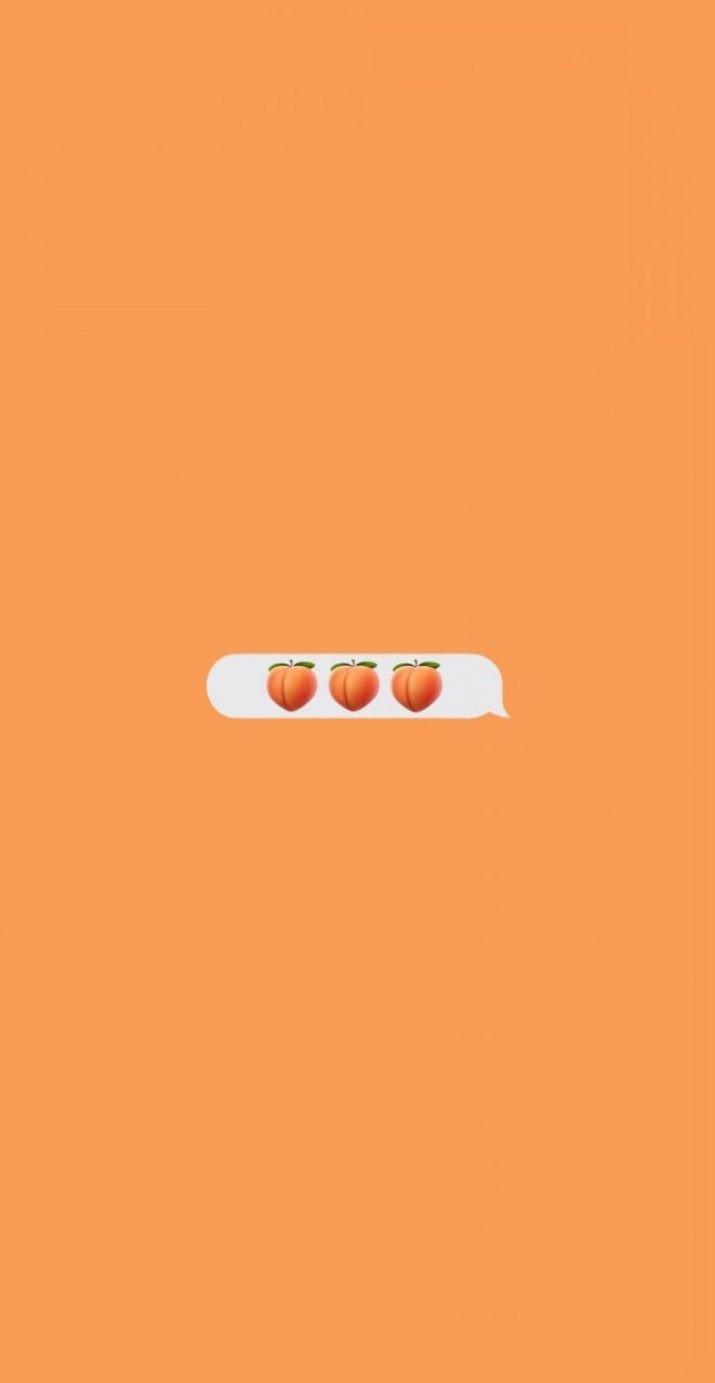 Orange Aesthetic Wallpaper 1