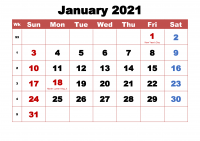 January 2021 Wallpaper 15
