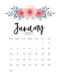 January 2021 Wallpaper 19