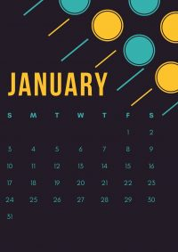 January 2021 Wallpaper 18