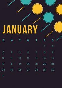 January 2021 Wallpaper 18