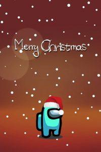 Among Us Christmas Wallpaper 16