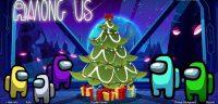 Among Us Christmas Wallpaper 6