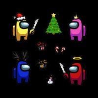 Among Us Christmas Wallpaper 8