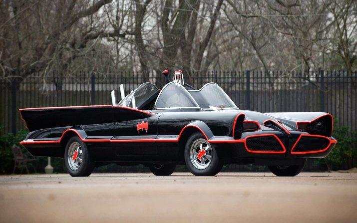 Batmobile Wallpaper 1