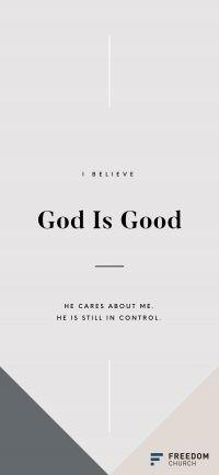 God Is Good Wallpaper 33